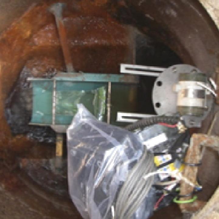 活性炭入替・汚泥脱水