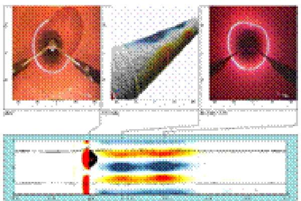 【工事後】管渠内の内径形状をレーザーでデジタル計測し、最新鋭の解析ソフトで3D表示も可能です。
